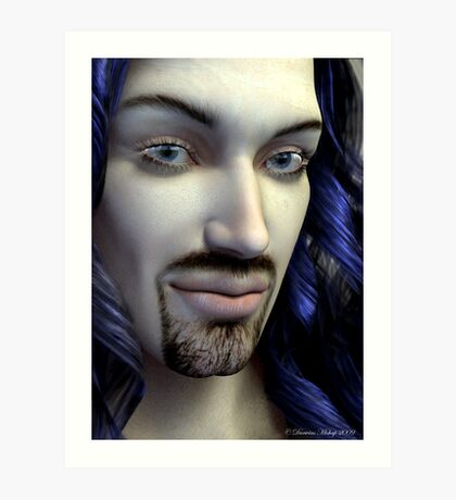 Portrait of The Eldest Art Print