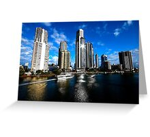 SPARKLING SKYLINE Greeting Card