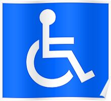 Disabled Access Symbol Poster