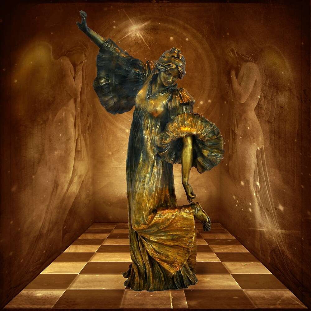 Dancing with Angels by © Kira Bodensted