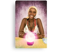 Belizean Fortune Teller Canvas Print