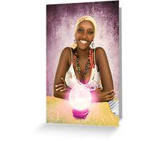 Belizean Fortune Teller Greeting Card
