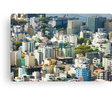 Male´ The Capital of the Maldives Canvas Print