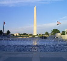 Washington Monument view number 2 by estrica