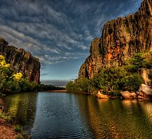 Windjana Gorge - Kimberley WA by Ian English