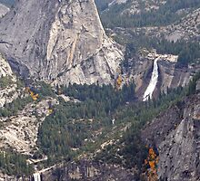 """Nevada and Vernal Falls"" by Lynn Bawden"
