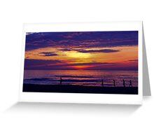 Asian Sunrise Greeting Card