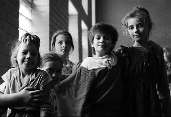 Ukrainian Kids by elisabeth tainsh
