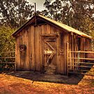 Wooden Barn, Bella Vista on Blackwood, Bridgetown, WA by Elaine Teague