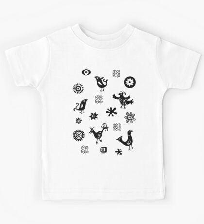 Primitive Birds  Kids Clothes