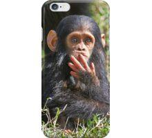 newborn Common Chimpanzee iPhone Case/Skin