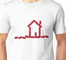 red jellybabies formed as a house Unisex T-Shirt