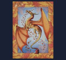 The Dragon of Autumn (framed) by Stephanie Smith