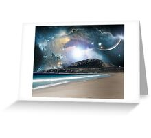 On Another Beach Greeting Card