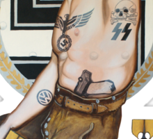 Hitler Sticker