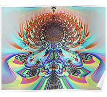 'Etheric Lotus (pastel)' Poster