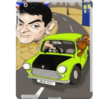 MR BEAN & DR WHO IPAD CASE iPad Case/Skin