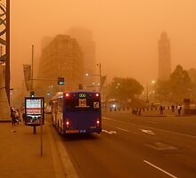 Dust Storm 7 a.m. by Ron Marton