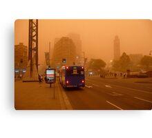 Dust Storm 7 a.m. Canvas Print