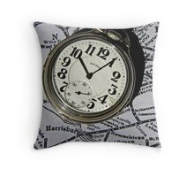 Time ~ Spend it Wisely Throw Pillow