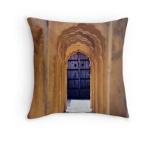 Palace of the Winds, Jaipur, India Throw Pillow