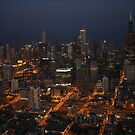 Downtown Chicago - Aerial Photography by Adam Bykowski