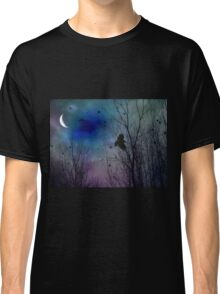Night Flight Of Crow Classic T-Shirt