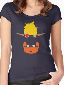 Jak & Daxter - Minimal Design Women's Fitted Scoop T-Shirt