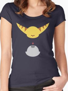 Ratchet & Clank - Minimal Design Women's Fitted Scoop T-Shirt