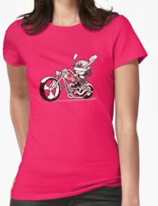 Born to Samurai Womens Fitted T-Shirt