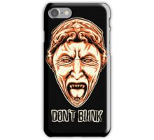 Weeping Angel - Don't Blink - Doctor Who iPhone Case/Skin