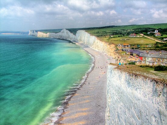 Birling Gap - HDR by Colin J Williams Photography