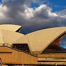 Utzon&#x27;s Bronze &amp; Blue by Ron Marton