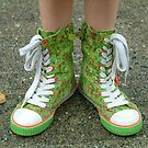 My Pretty Green Hightops! by Merilyn