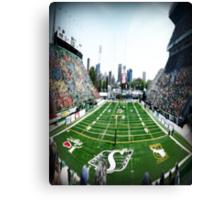 Mosaic Stadium Taylor Field Canvas Print