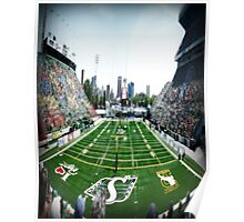 Mosaic Stadium Taylor Field Poster