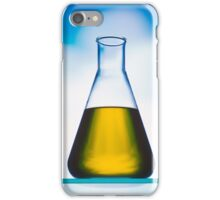 eco fuel in Erlenmeyer flask  iPhone Case/Skin