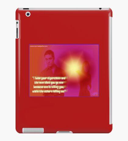Kills Me iPad Case/Skin