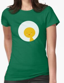 Cute Chick Womens Fitted T-Shirt