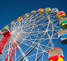 Ferris Wheel at Luna Park by Andrew Robinson
