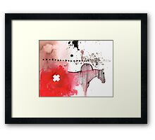 hickstead and the fescue incident Framed Print