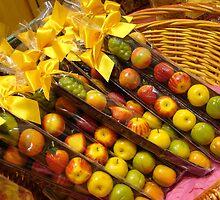 Fruit Candies in Basket by jsflysrc