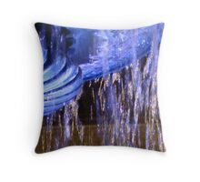 Blue fountain (detail) Throw Pillow