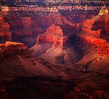 Twilight, Grand Canyon by Olga Zvereva