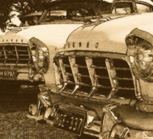 Classic FC Holden Cars Sticker