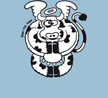 Mystic Cow, bless our daily milk! Womens Fitted T-Shirt