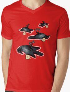 Murder Of Crows Mens V-Neck T-Shirt