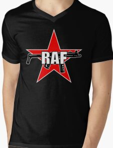 RAF Red Army Faction Mens V-Neck T-Shirt