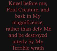 Kneel before Me by Ry Bowie-Woodham