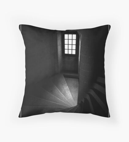 Chateau Steps Throw Pillow